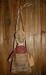 My Primitive Prairie Life Church Doll EPattern