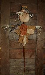 My Primitive Keeper of the Corn Scarecrow Epattern