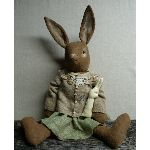 My Primitive EASTER SUNDY BUNNY pt100-bunny,rabbit,easter,spring,pattern,epattern,primitive
