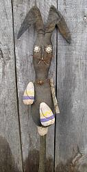 "My Primitive ""Egg Hunting"" Rabbit Stick Pattern"