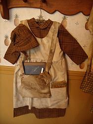 My Primitive Prairie Life School Days Dress Epattern
