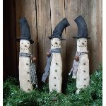 My Primitive Tall and Plain Snowmen Epattern