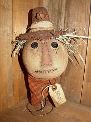 My Primitive Sammy Scarecrow Pattern
