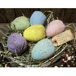 MY PRIMITIVE SPECKLED EASTER EGGS PT023-PRIMITIVE,EASTER,EGGS,PATTERN,E-PATTERN,EPATTERN,ORNIE,BOWL FILLER,SPRING,COLONIAL