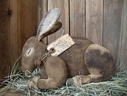 My Primitive Back Porch Rabbit Epattern