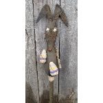 "My Primitive ""Egg Hunting"" Rabbit Stick Pattern-egg,rabbit,bunny,easter,spring,make do,prim,primitive,pattern,epattern"