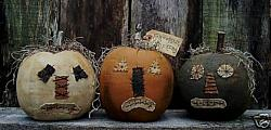 MY PRIMITIVE FORGOTTEN PUMPKINS PATTERN