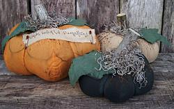 "MY PRIMITIVE ""OLDE WORLD PUMPKINS"" PATTERN"