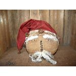 My Primitive Santa Sitter Head Pattern-prim,primitive,santa,sitter,christmas,winter,pattern,epattern