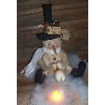 MY PRIMITIVE TOASTY  NIGHTS SNOWMAN E- PATTERN-SNOWMAN,PRIMITIVE,WINTER,CHRISTMAS,MARSHMALLOW,PATTERN,EPATTERN,E-PATTERN